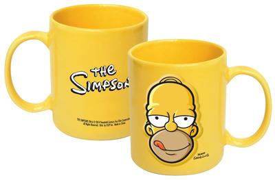 Simpsons Embossed Homer 20 Oz Mug Mug