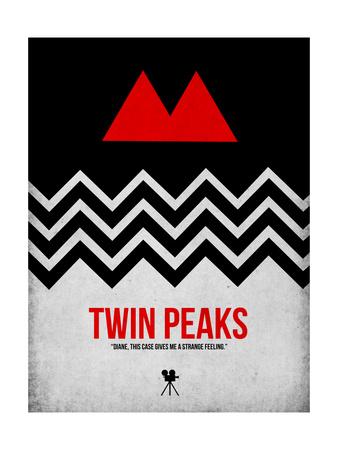 Twin Peaks Plakater af David Brodsky