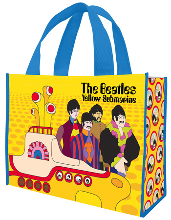 The Beatles Yellow Submarine Large Recycled Shopper Tote Bag