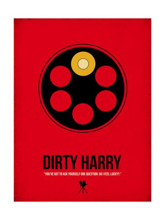 Do I Feel Lucky Plakater af David Brodsky