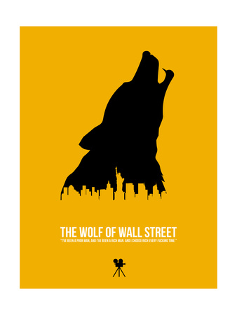 The Wolf of Wall Street Poster by David Brodsky