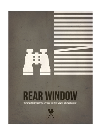 Peeping Tom Print by David Brodsky
