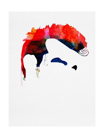 Steven Patrick Watercolor Posters by Lora Feldman
