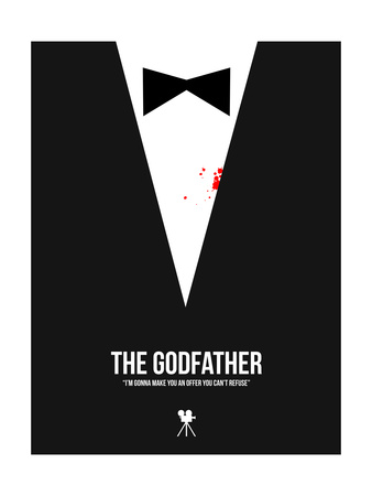 The Godfather Poster by David Brodsky