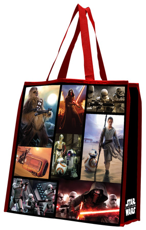 Star Wars: The Force Awakens Large Recycled Shopper Tote Bag