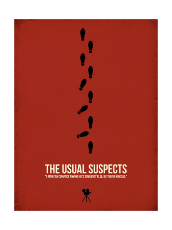 The Usual Suspects Prints by David Brodsky
