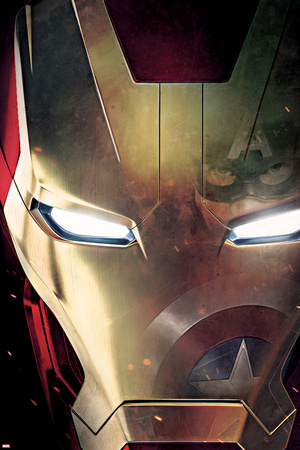 Captain America: Civil War - Iron Man Póster