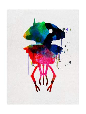 Droid Watercolor Posters by Lora Feldman!