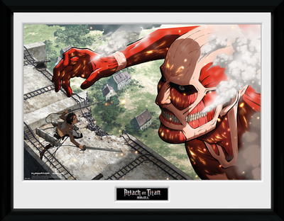 Attack On Titan- Against A Titan Collector-tryk