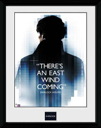 Sherlock- East Wind Coming Collector-tryk