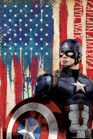Captain America: Civil War Láminas