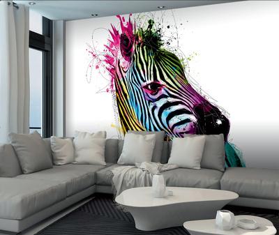 Patrice Murciano Zebra Wall Mural Duvar Resimleri