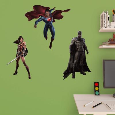 DC Batman v Superman Fathead Jr. Collection Wall Decal