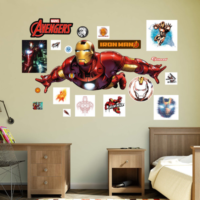 Marvel Avengers Assemble Iron Man 2015 RealBig Wall Decal