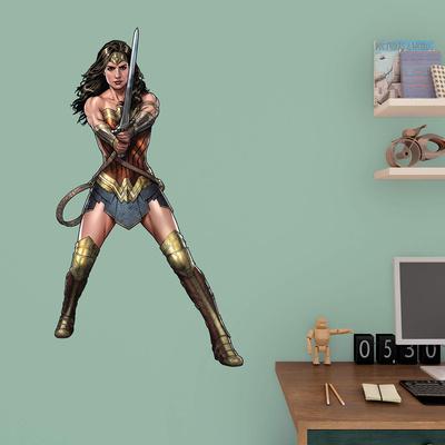 DC Batman v Superman Wonder Woman Fathead Jr. Wall Decal