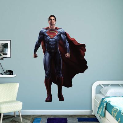 DC Batman v Superman Superman RealBig Wall Decal