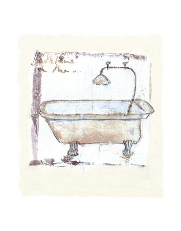 Tub-o-Fun Prints by Jane Claire