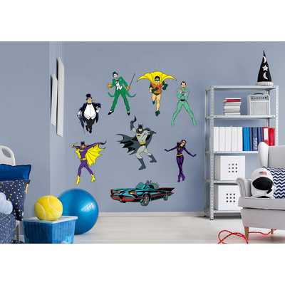 DC Batman Classic RealBig Collection Wall Decal