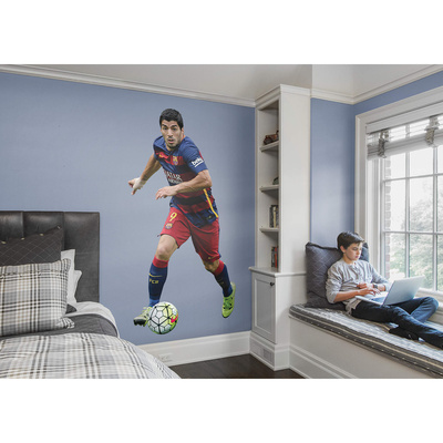 Soccer FC Barcelona Luis Su rez 2015 RealBig Wall Decal