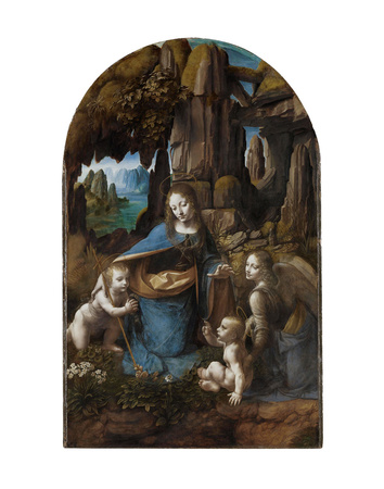 Virgin of the Rocks, 1503-1506 Posters by Leonardo Da Vinci
