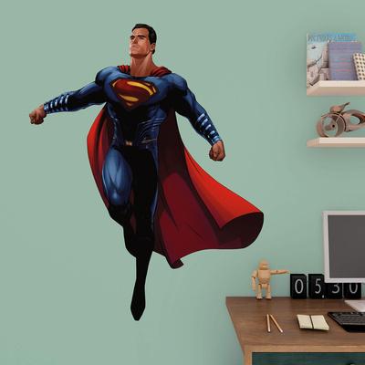 DC Batman v Superman Superman Fathead Jr. Wall Decal