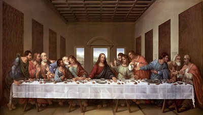 The Last Supper Prints by Leonardo Da Vinci
