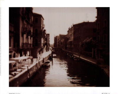 Venetian Canal Prints by David Westby