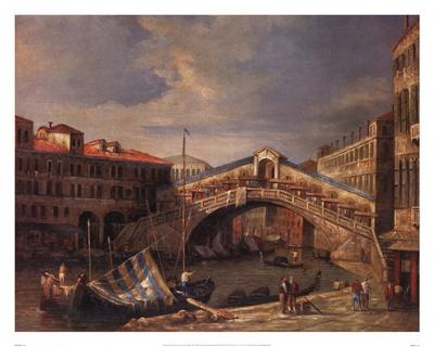 Venice Bridge Prints by Paul Stanley