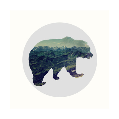 Spirit Bear Poster by Evangeline Taylor