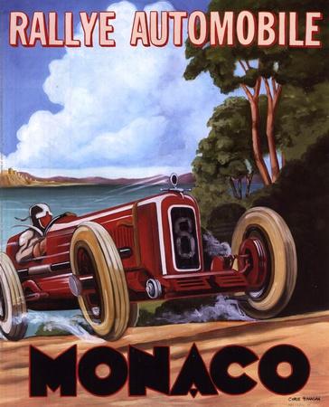Monaco Rallye Prints by Chris Flanagan