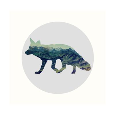 Spirit Fox Prints by Evangeline Taylor