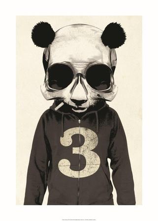 Panda No.3 Poster by Hidden Moves