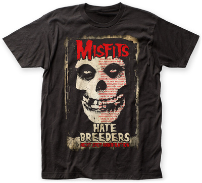 The Misfits- Hate Breeders T-shirts