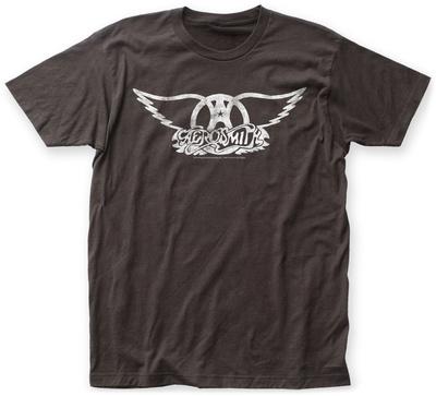 Aerosmith- Distressed White Wings T-shirts