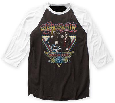 Aerosmith- World Tour 1977 Raglan Raglans