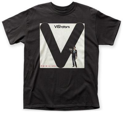 The Vibrators- Pure Mania T-Shirt