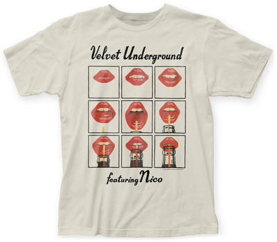 Velvet Underground- Lips Grid T-Shirts