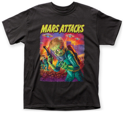 Mars Attacks- Invaders From Beyond T-shirts