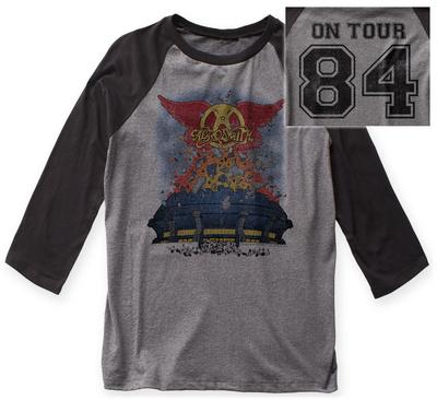 Aerosmith- Stadium Tour '84 Raglan (Front/Back) Raglans