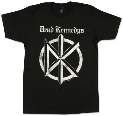 Dead Kennedys- Distressed Gothic Logo Bluse