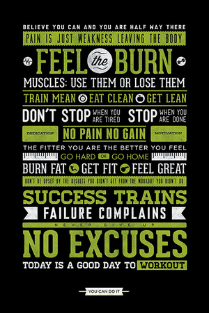 Gym - Motivational Posters