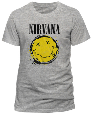 Nirvana- Smiley Splat T-Shirts