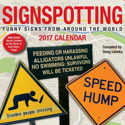 Signspotting - 2017 Boxed Calendar Takvimler