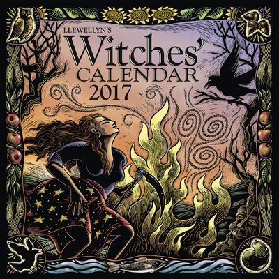 Llewellyn's Witches' Calendar - 2017 Calendar Kalendarze