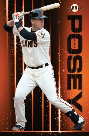 San Francisco Giants- Buster Posey 2016 Prints
