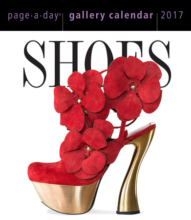 Shoes Page-A-Day Gallery - 2017 Boxed Calendar Kalendarze