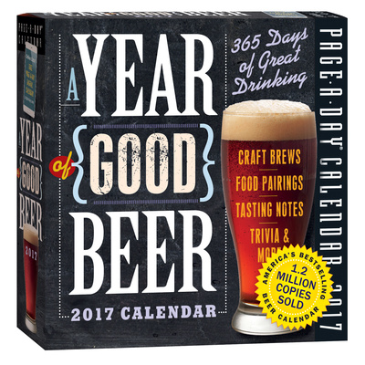 A Year Of Good Beer Page-A-Day - 2017 Boxed Calendar Takvimler