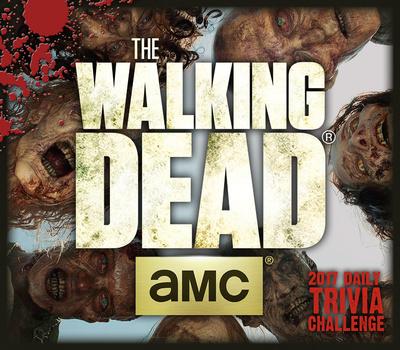 AMC's The Walking Dead Trivia Challenge - 2017 Boxed Calendar Takvimler