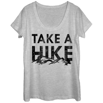 Womens: Hike Them Hills Scoop Neck T-Shirt