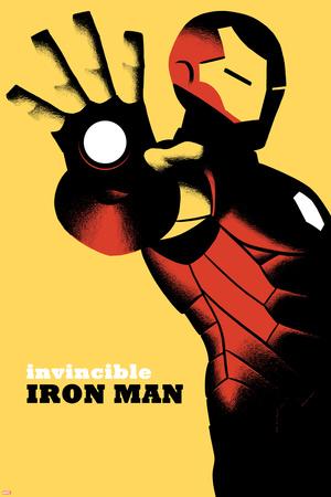 Invincible Iron Man No.6 Cover Photo